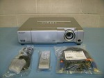 Sharp, PG-D40W3D, DLP Projector with HDMI Input, HDMI Cable, Remote Control and BRAND NEW Lamp