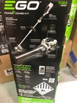 EGO POWER+ 56-Volt 15 in. Rapid Reload String Trimmer & 530 CFM Blower Combo Kit used in good condition
