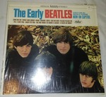The early Beatles album with cellophane and price tag near mint condition.
