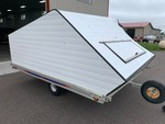 2001 PDT 8X10 COVER SNOWMOBILE TRAILER