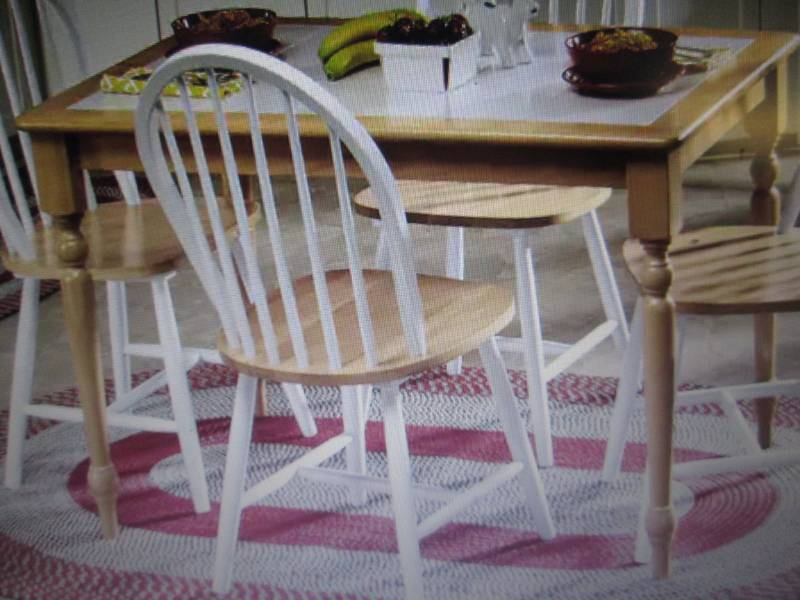 Tile Top Dining Table open box Reta... | Furniture, Kitchen ...