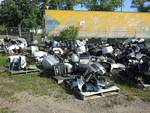 Large Lot of Boat Motors and Boat Motor Parts