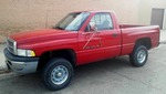1994 DODGE RAM 1500 SHORT BOX, STANDARD CAB, 4 WHEEL DRIVE, 360 CI, AUTOMATIC TRANSMISSION NO RESERVE!