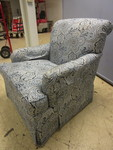 HICKORY ACCENT CHAIR WITH DOWN CUSHION