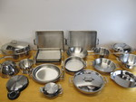 HUGE Lot of Quality ALL-CLAD Stainless Steel Cookware