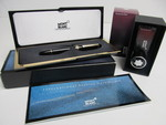 Mint in Box MONT BLANC Meisterstuck No. 146 Pen w/Unused Bergundy Red Ink