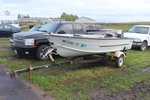 1967 Starcraft 16' Boat w/ 25hp Johnson Outboard w/ Trailer