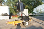 Auto Flagger Solar Powered Flagging Trailer With Remote Control