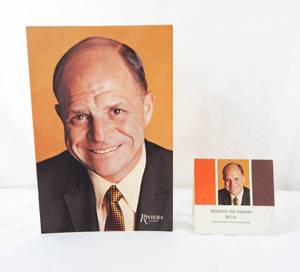 Vintage 1973 Don Rickles Rivera Show Drink Menu and Table Card