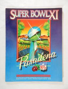 Vintage 1977 Super Bowl 11 Game Program