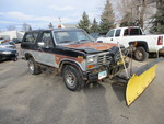1986 Ford Bronco Plow Truck