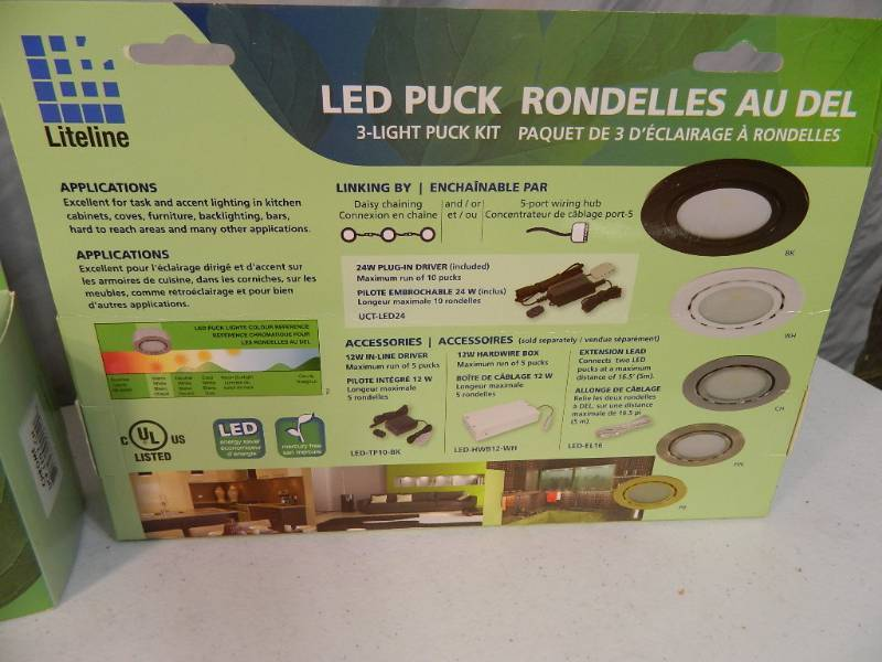 New Led Puck Lights Pellet Stove Tools New Merchandise