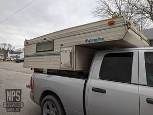 Palomino Mini L Pop-Up Cab Over Truck Camper