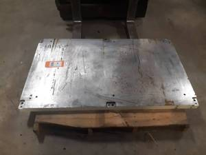 "2"" Thick Steel Plate 53"" x 31"" - Would Make a Good Welding Table"