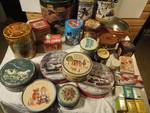 Collectible Tins - Looney Toons, Mini tea, many vintage