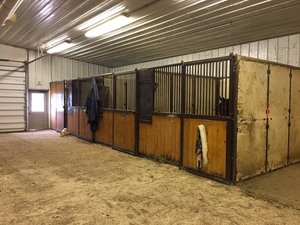 9'x12' Horse Stall --- Wash Stall