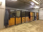 9'x12' Horse Stall --- Feed Stall