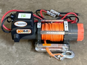 Keeper KV6.0S Electric Winch, 12Vol...