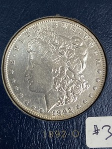 1892-O Morgan Silver Dollar ...