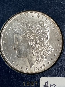 1897 Morgan Silver Dollar ...