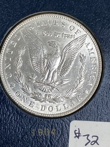1904 Morgan Silver Dollar ...