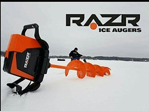 New-In-Box Razr 40Volt Lithium-Powered Ice Auger