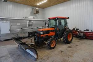2000 Kubota Model L4310 HSTC MFWD Tractor With Plow