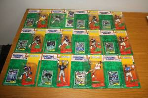 Starting Lineup Football Lot  | 12 Figures