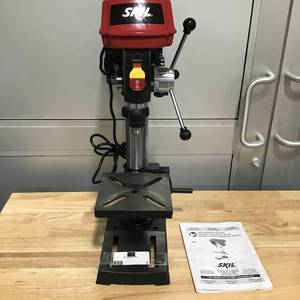 Skil Saw 10 in. Portable Drill Press with Built-In Laser