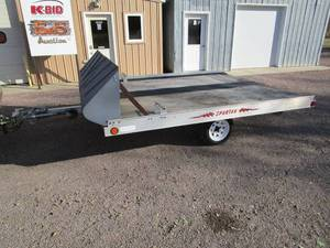 Spartan Aluminum Snowmobile Trailer