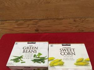 Kirkland Signature Cut Green Beans & Golden Sweet Corn, Retail $12.94