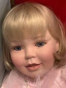 Vintage Large Marie Osmond Porcelain Doll SIGNED $179 Retail
