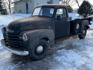 1949 Chevrolet 3800 Pickup Truck  -- Former North Dakota Truck -- North Dakota Title