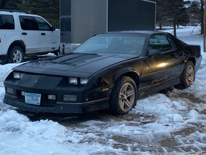 1985 Chevrolet Camaro Z28 I-ROC  --- No Title Or Registration Paperwork