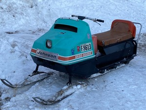 "1965 Johnson / Evinrude ""Skee-Horse"" Snowmobile -- No Title Or Registration Paperwork"