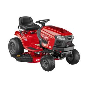 CRAFTSMAN T110 17.5-HP Manual/Gear 42-in Riding Lawn Mower with Mulching Capability (Kit Sold Separately) CMXGRAM1130036