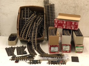Lot Of Assorted LGB Electrified Rail Tracking