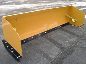 10' Snow Pusher (Skid Steer Attachment)