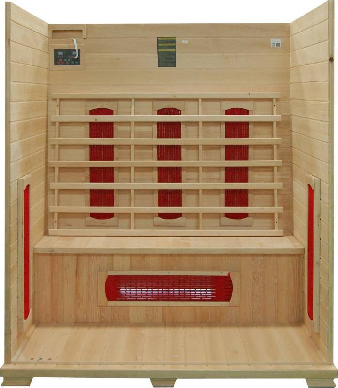 New - 3 Person Infrared Sauna