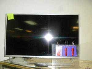 "Element 40"" Flat screen with remote. Mfg 2017. As shown. *SEE TERMS"