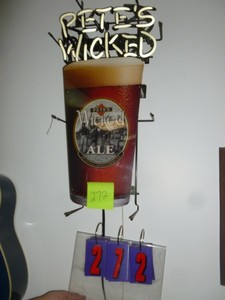 Petes Wicked Ale Neon that works. As shown. *SEE TERMS