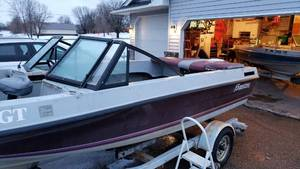 1985 17ft Forrester Boat & Trailer