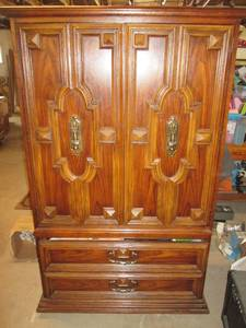 Armoire Full Of Woman's Items, Over...
