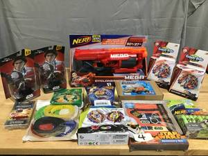 STAR WARS, NERF, LEGO, STEM - Mixed Lot of toys and figures!