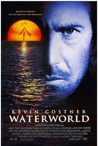 "Lot of 5 Waterworld 12"" x 18"" Original Movie Poster $40 retail"