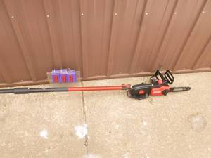 "Craftsman 10"" Electric pole saw. Lightly used. Tested & works. As Shown. *SEE TERMS"