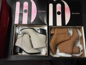 2-Pair Shoes Ladies Size 6