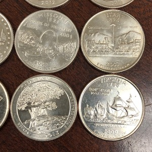 (16) Quarters (Statehood & National Parks)