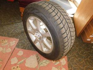 Lot of 4 Tires and Rims