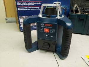 Bosch Self Leveling Green Rotary Laser with Layout Beam GRL300HVG